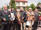 Uroczystość odsłonięcia tablicy upamiętniającej dr Szymona Klarnera